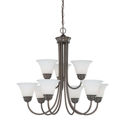 Thomas Lighting SL805215 Bella Collection Oiled Bronze Finish Traditional Chandelier