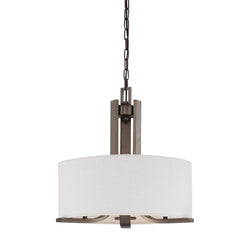 Thomas Lighting SL806615 Pendenza Collection Oiled Bronze Finish Transitional Chandelier