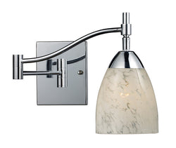 ELK Lighting Celina Celina 1-Light Swingarm Sconce In Polished Chrome - 10151/1PC-SW - ELKLightingCenter