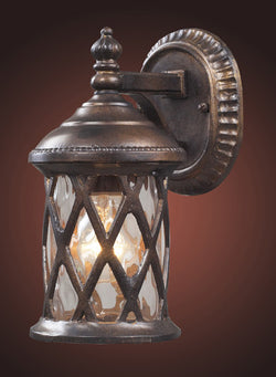ELK Lighting 42036-1 Barrington Gate One Light Outdoor Sconce In Hazelnut Bronze - ELKLightingCenter