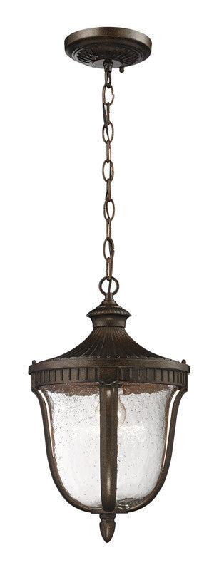 ELK Lighting Worthington 1- Light Outdoor Pendant In Hazelnut Bronze - 27002/1 - ELKLightingCenter
