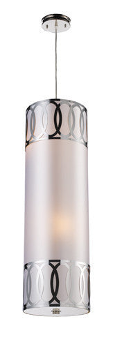 ELK Lighting 10175-4 Anastasia Four Light Pendant In Polished Nickel - ELKLightingCenter