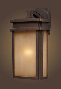 ELK Lighting 42141-1 One Light Outdoor Sconce In Clay Bronze - ELKLightingCenter