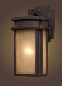 ELK Lighting 42140-1 One Light Outdoor Sconce In Clay Bronze - ELKLightingCenter