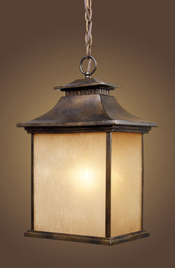 ELK Lighting 42183-1 San Gabriel One Light Outdoor Pendant In Hazelnut Bronze - ELKLightingCenter