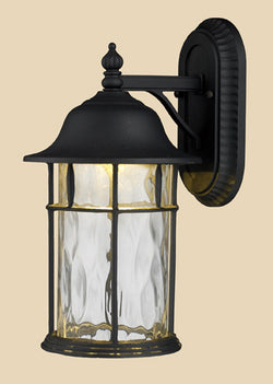 ELK Lighting 42261-1 Lapuente One Light Outdoor Title 24 Compliant Led Wall Mount In Matte Black - ELKLightingCenter