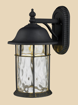 ELK Lighting 42260-1 Lapuente One Light Outdoor Title 24 Compliant Led Wall Mount In Matte Black - ELKLightingCenter