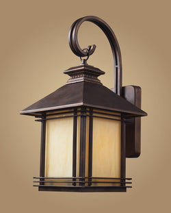 ELK Lighting 42101-1 One Light Outdoor Wall Sconce In Hazelnut Bronze - ELKLightingCenter