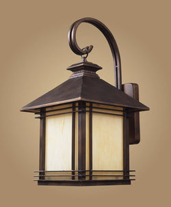 ELK Lighting 42102-1 One Light Outdoor Wall Sconce In Hazelnut Bronze - ELKLightingCenter