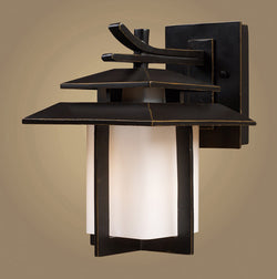 ELK Lighting 42170-1 Kanso One Light Outdoor Sconce In Hazelnut Bronze - ELKLightingCenter