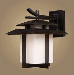 ELK Lighting 42171-1 Kanso One Light Outdoor Sconce In Hazelnut Bronze - ELKLightingCenter