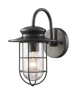 ELK Lighting 42284-1 Portside One Light Outdoor Sconce In Matte Black - ELKLightingCenter