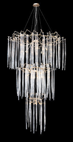 ELK Lighting Lighting 1746-29 Cascadia 2Nine Light Chandelier In Silver - ELKLightingCenter