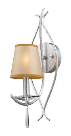 ELK Lighting Clarendon 1- Light Wall Sconce In Silver - 14080/1 - ELKLightingCenter