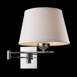 ELK Lighting 10106-1 Lanza One Light Swing Arm Sconce In Polished Chrome - ELKLightingCenter