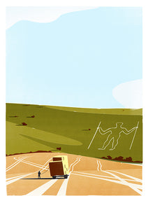 Longman of Wilmington print by Adam McNaught-Davis
