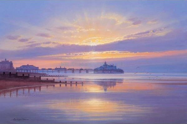 Eastbourne Pier Print by Christopher Osborne