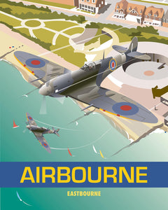 Airbourne Print by Dave Thompson