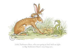 Little Nutbrown Hare print by Anita Jeram