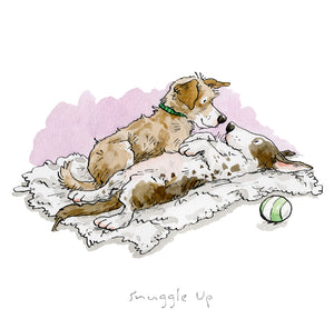 Snuggle Up Print by Anita Jeram