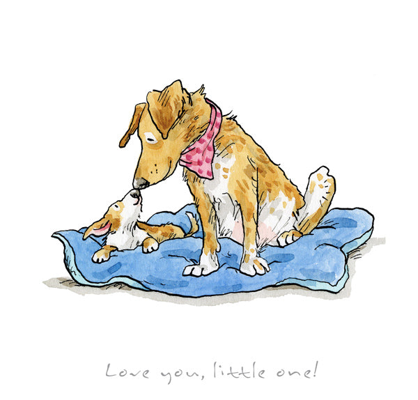 Love You Little One print by Anita Jeram