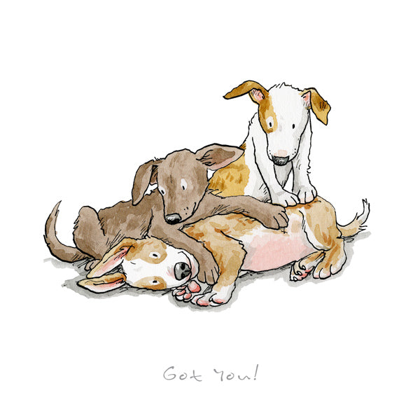 Got you print by Anita Jeram