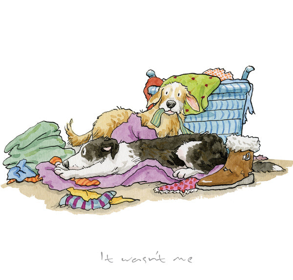 It wasn't Me print by Anita Jeram