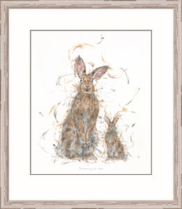 Somebunny to Love print by Aaminah Snowdon