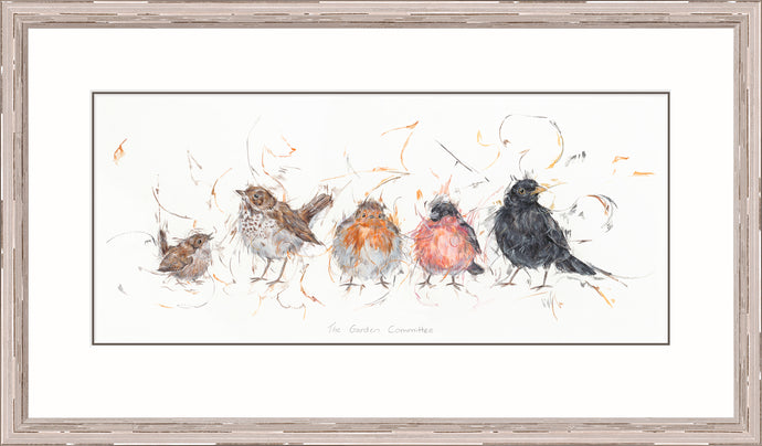 The Garden Committee print by Aaminah Snowdon
