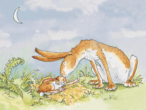 I Love you to the Moon Print by Anita Jeram