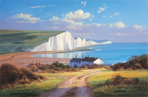 Cuckmere Haven Print by Christopher Osborne