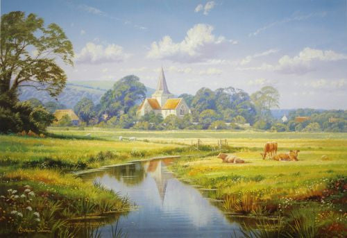 Alfriston Print by Christopher Osborne