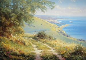 Towards Eastbourne Print by Christopher Osborne