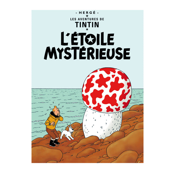 L'Etoile Mysterieuse Print, Tintin by Herge