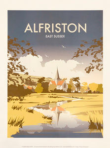 Alfriston Print by Dave Thompson