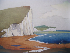 Cuckmere Haven Print by Eric Slater
