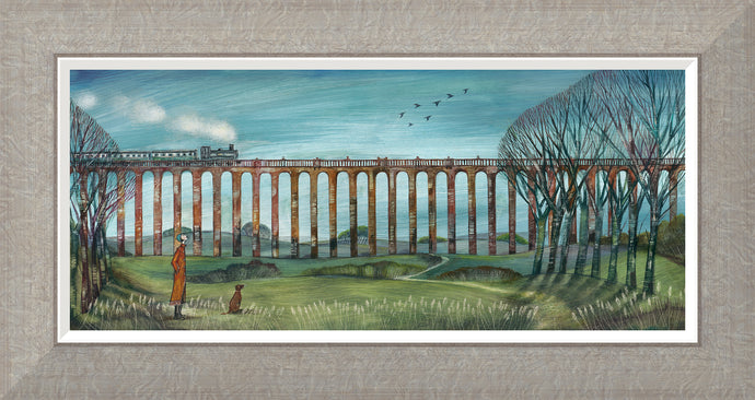 Viaduct Walk Print by Joe Ramm