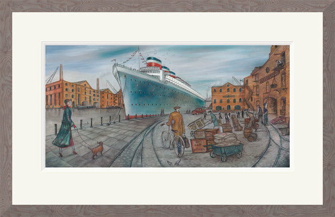 Ship Shape print by Joe Ramm