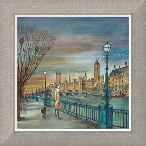 Sunset Stroll print by Joe Ramm