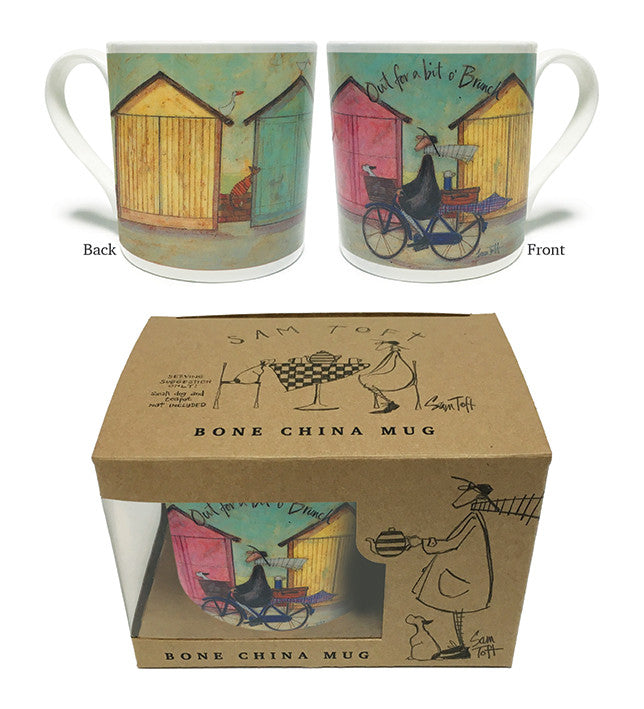 Out for a bit o' brunch Mug by Sam Toft