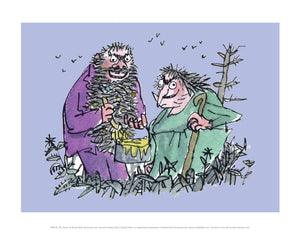 The Twits Print by Roald Dahl