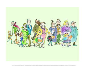 Charlie and the Chocolate Factory Print by Roald Dahl