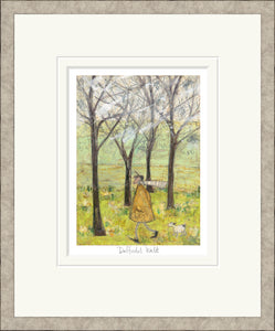 Daffodil Walk Print by Sam Toft
