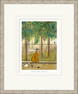 Smells like Summer Print by Sam Toft