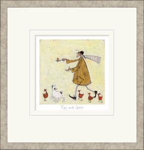 Egg and Spoon Print by Sam Toft