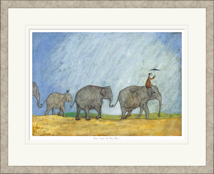Never Forget the Way Home Print by Sam Toft