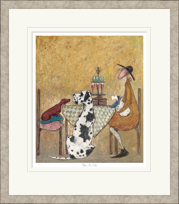Pass the Cake Print by Sam Toft