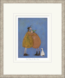 The Last Hug of the Day print by Sam Toft