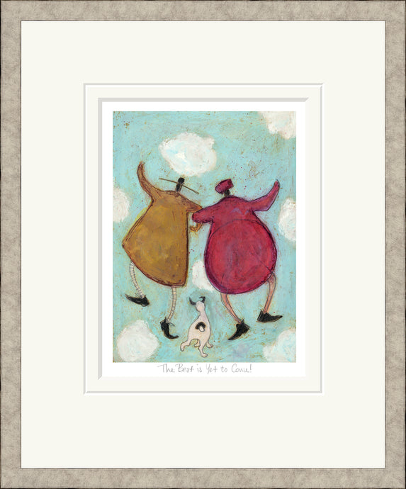 The Best is Yet to Come print by Sam Toft