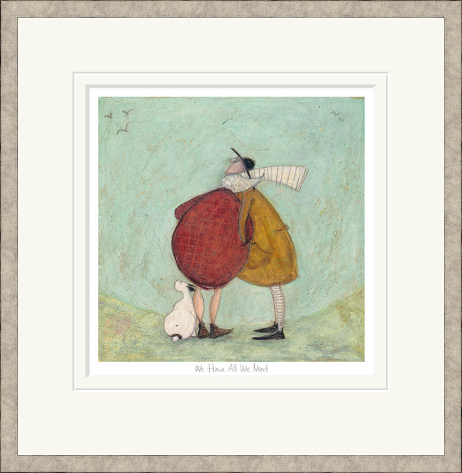 We Have All we Need print by Sam Toft